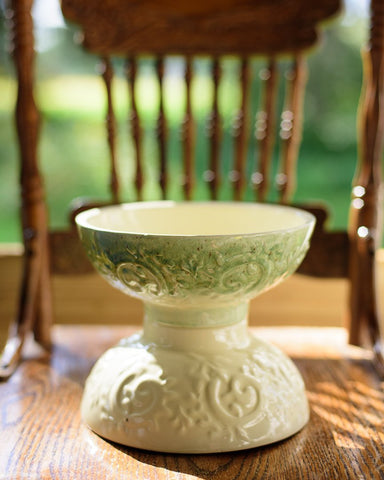 Haeger Pottery White Serving Bowl or Planter