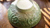 Haeger Pottery Green Ombre Serving Bowl or Planter