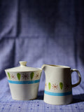 Japan Horizon Ware Creamer and Sugar Set