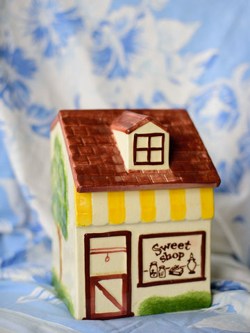 Los Angeles Potteries 1956 Sweet Shop Cookie Jar