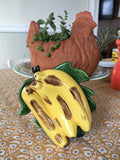 Bright Banana Wall Pocket Planter