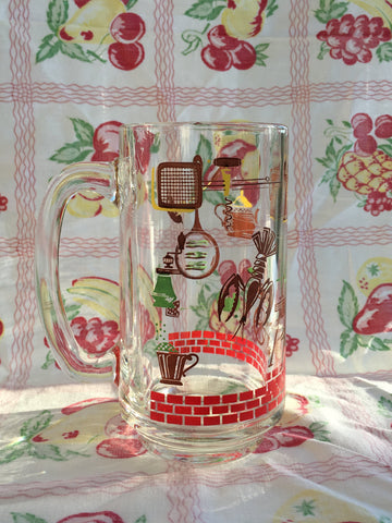 Lobster bake Illustrated Beer Mug