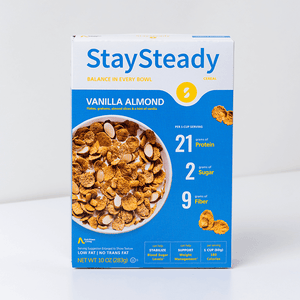 Stay Steady Vanilla Almond cereal