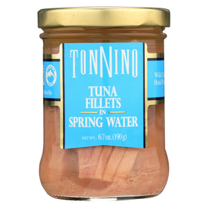 Tonnino - Light Tuna Fillets In Spring Water