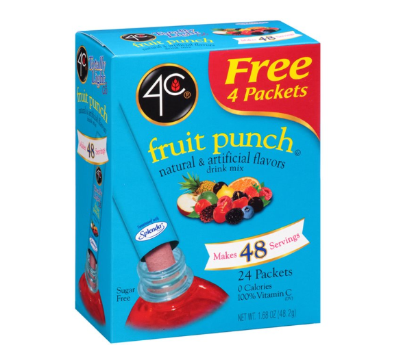 4C Totally Light 2Go Fruit Punch
