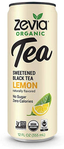 Zevia Lemon black tea
