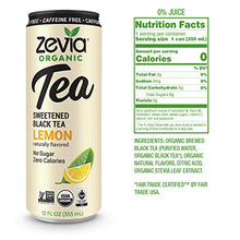 Load image into Gallery viewer, Zevia Lemon black tea