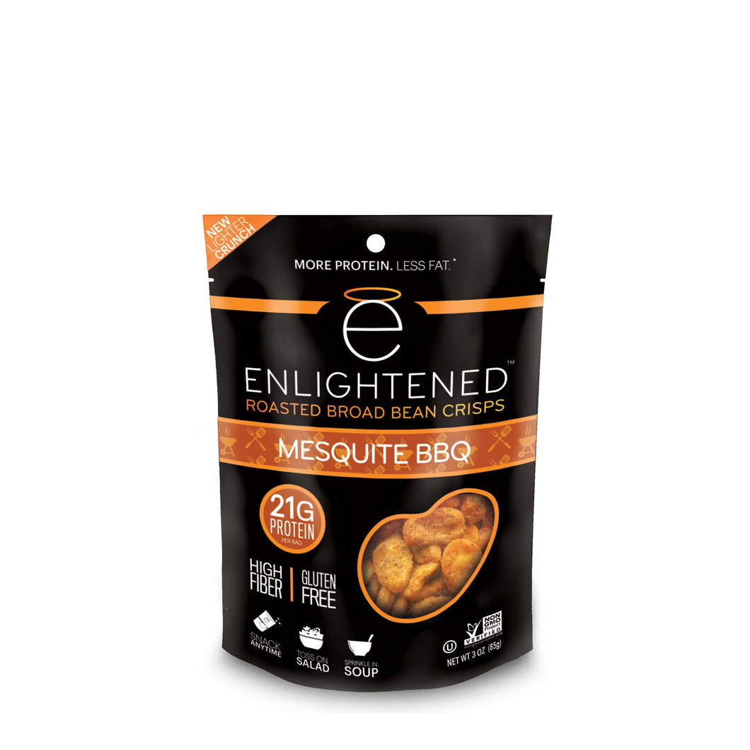 Enlightened Bean Crisps Mesquite BBQ