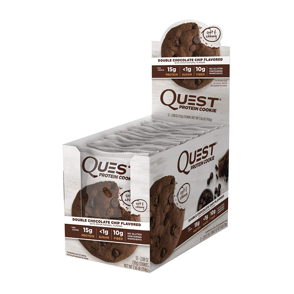 Quest cookie double chocolate chip