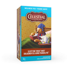 Load image into Gallery viewer, Celestial Teas Sleepytime Throat Tamer
