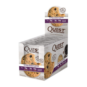 Quest cookie oatmeal raisin