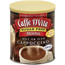Load image into Gallery viewer, Copy of Caffe D'vita Sugar Free Cappuccino - French Vanilla