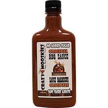 Load image into Gallery viewer, Crazy Mooskies BBQ Sauce Original