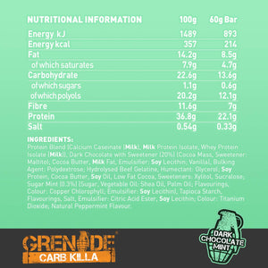 Grenade Dark Chocolate Mint