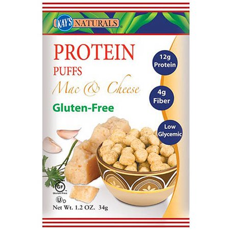 Kays protein Puffs Mac n Cheese
