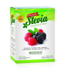 Greeniche Stevia - (100) 1 gram Sackets