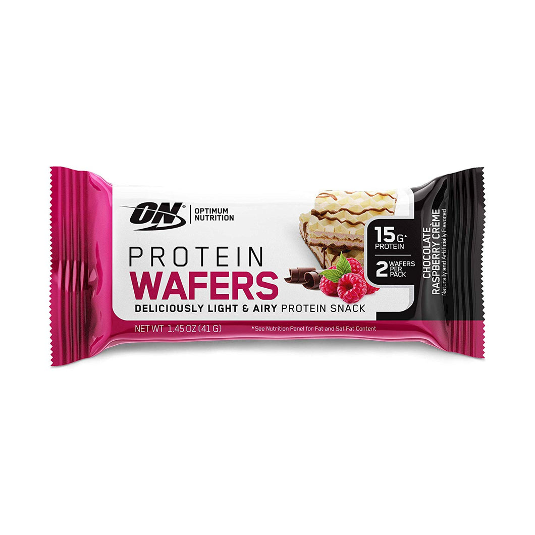 Optimum Nutrition - Protein Wafers - Chocolate Raspberry Creme