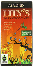 Load image into Gallery viewer, Lily's - Dark Chocolate Bar - Almond