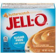 Load image into Gallery viewer, Jell-o Butterscotch sugar free