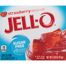 Load image into Gallery viewer, Jell-o  -  strawberry sugar free
