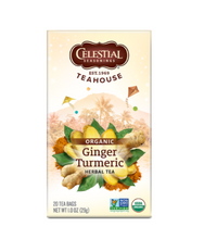 Load image into Gallery viewer, Celestial Tea - Ginger & Turmeric