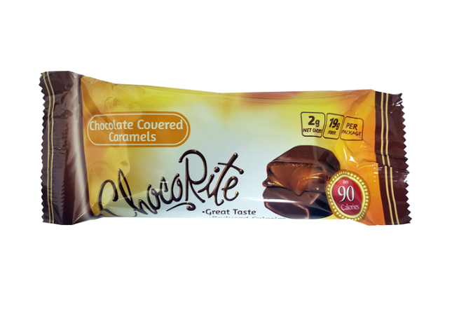 Healthsmart - ChocoRite Snack Bars- Chocolate Covered Caramels