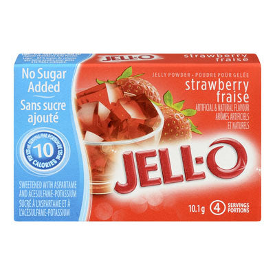 Jell-o -  strawberry banana sugar free