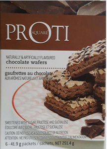 Proti square chocolate waffers