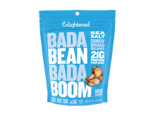 Load image into Gallery viewer, Enlightened Bean Crisps Sea Salt