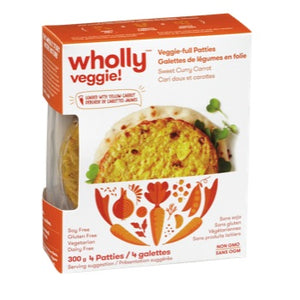 Wholly veggie - loaded with yellow carrot