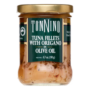 Tonnino - Light Fillets With Oregano In Olive Oil