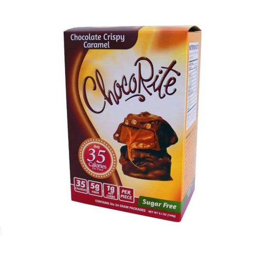 ChocoRite Value Pack -Chocolate Crispy Caramel - 6pc