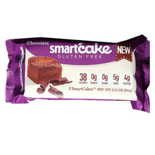 Load image into Gallery viewer, Smart Cakes - Chocolate (2 Cakes - 60g)