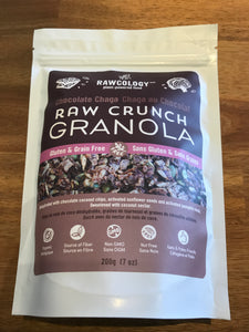 RAWCOLOGY GRANOLA Chocolate Chaga