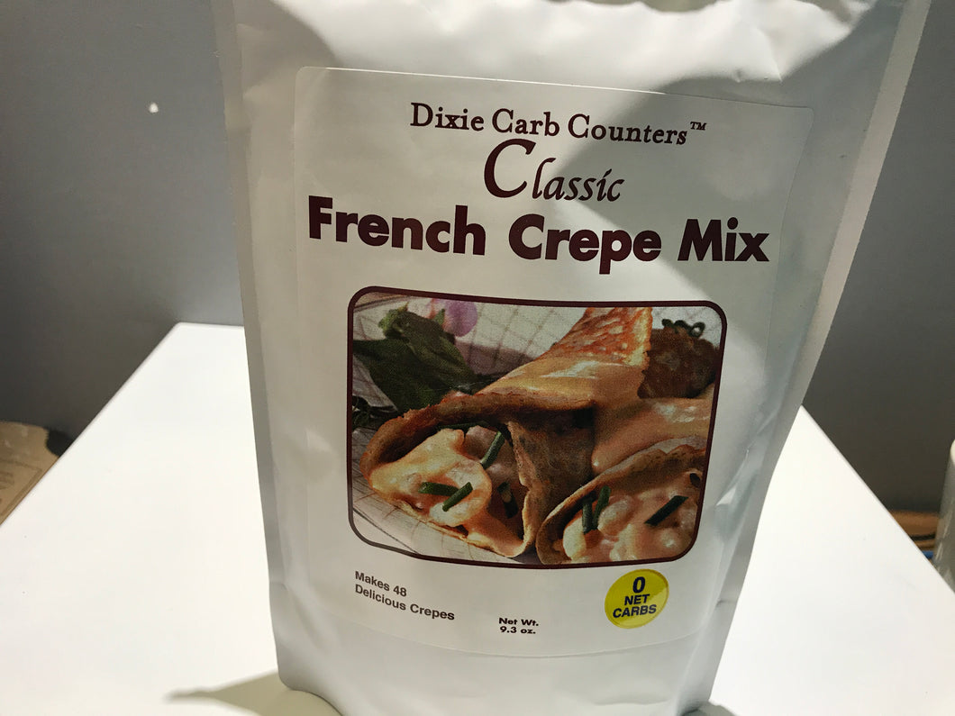 Dixie carb counters - French crepe mix