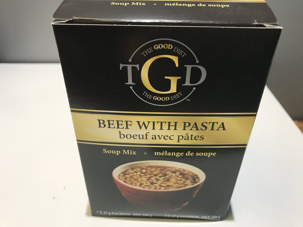 The good diet beef with pasta