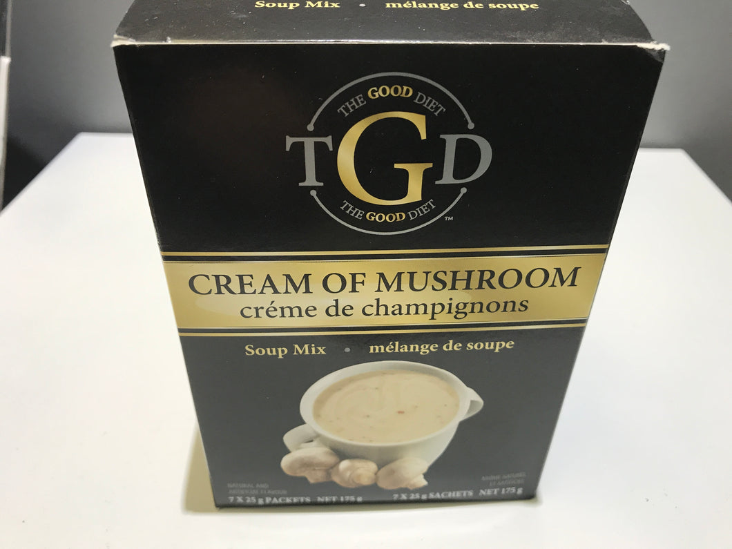 The Good Diet cream of mushroom soup