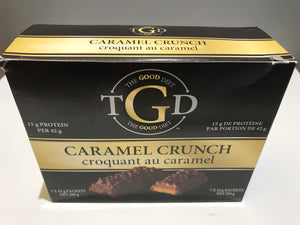 The good diet Caramel crunch bar