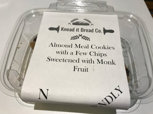 Knead it Bread Co. - chocolate chip almond meal cookies