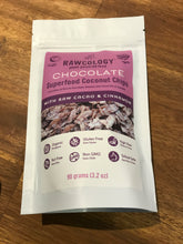 Load image into Gallery viewer, RAWCOLOGY COCONUT CHIPS Chocolate 90g