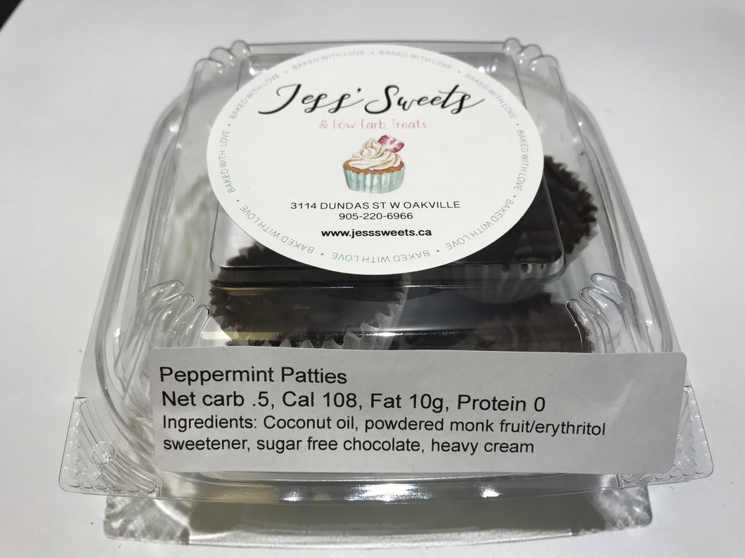 Jess sweets  peppermint patties