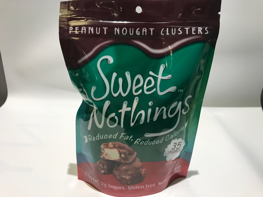 Sweet nothings Peanut nut clusters