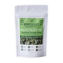 Load image into Gallery viewer, RAWCOLOGY COCONUT CHIPS Matcha Latte 90g