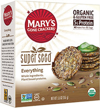 Load image into Gallery viewer, Mary's Organic Crackers - Everything