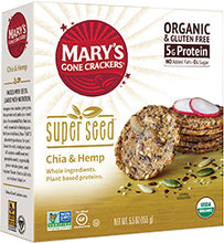 Load image into Gallery viewer, Mary's Organic Crackers - Chia & Hemp