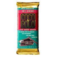 Load image into Gallery viewer, Coco Polo Pure Sugar Free Gluten Free Milk Chocolate Bar