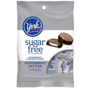 York sugar free peppermint patties