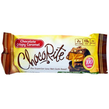Load image into Gallery viewer, Healthsmart - ChocoRite Snack Bars- Crispy Caramel