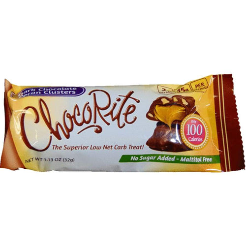Healthsmart - ChocoRite Snack Bars- Dark Chocolate pecan clusters