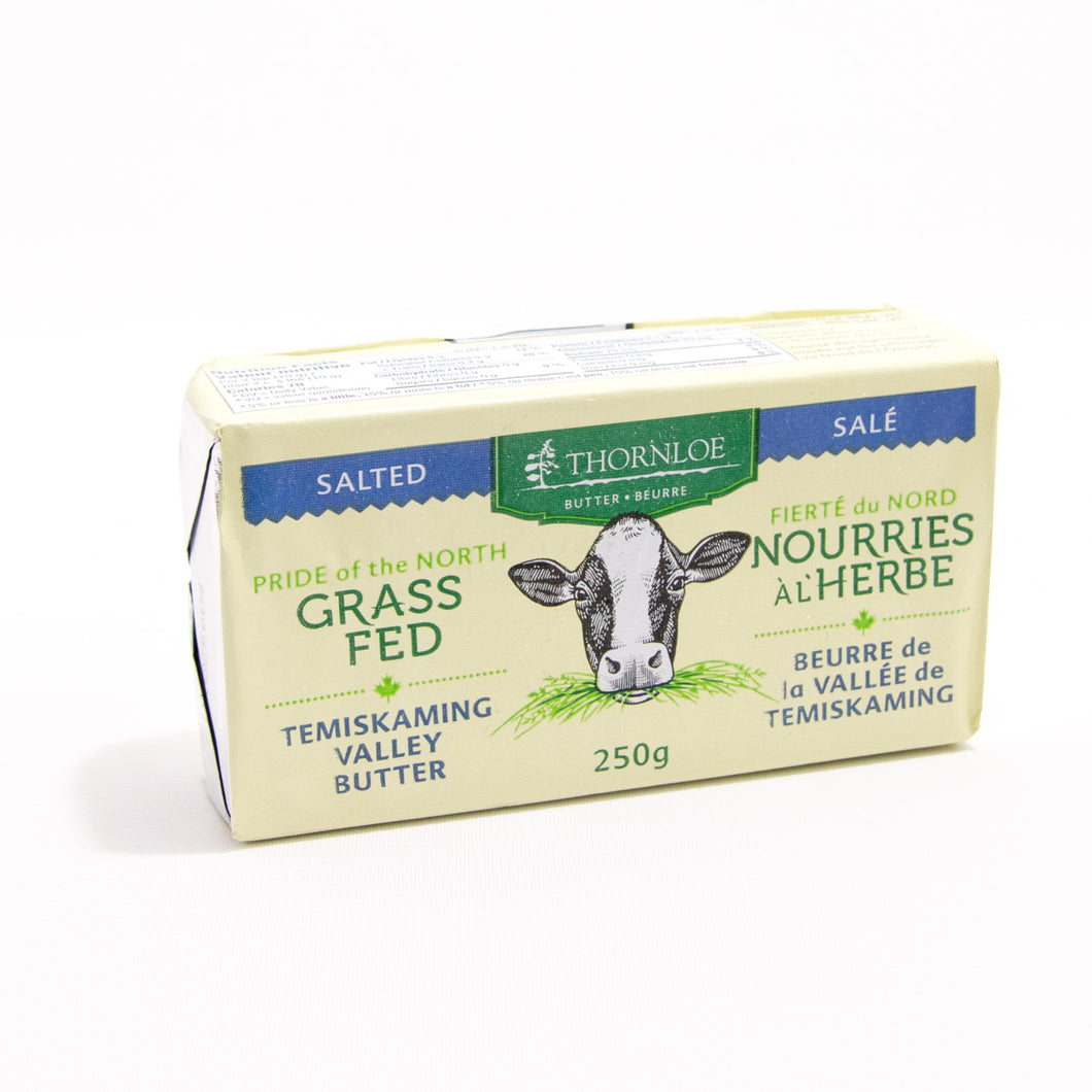 Thornloe - grass fed butter salted
